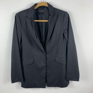 Rag & bone gray blazer